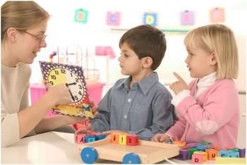 Воспитания в детском саду
